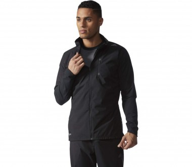 Adidas - Supernova Gore Windstopper men's running jacket (black)