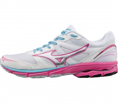 Mizuno - Wave Aero 15 women's running shoes (white/pink)