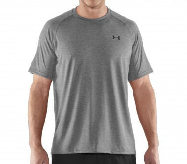 Under Armour - Tech Shortsleeve men's training top (grey)