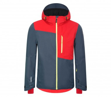Icepeak - Timon men's ski jacket (dark grey/red)