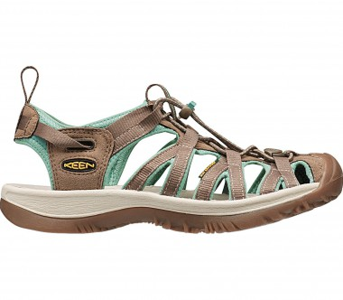 Keen - Whisper women's outdoor sandals (brown/green)
