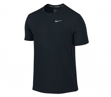 Nike - Dri Fit Contour Shortsleeve men's running top (black)