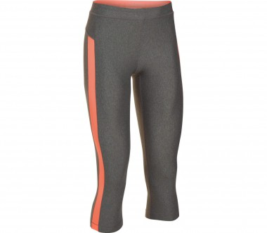 Under Armour - Heatgear Armour Coolswitch women's training pants (grey/orange)