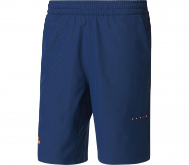 Adidas - Barricade bermuda shorts men's tennis shorts (dark blue/orange)