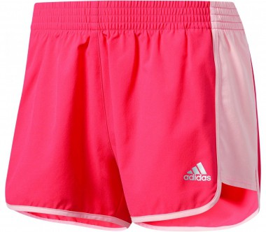 Adidas - 100M Dash Knit women's training shorts (blue)