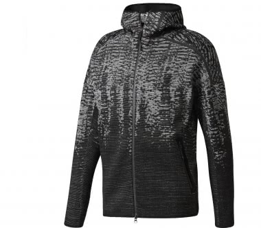 Adidas - Z.N.E. Pulse Knitted men's training jacket (black/grey)