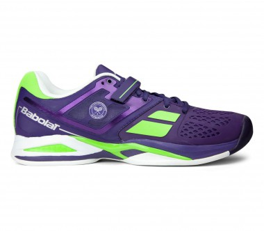 Babolat - Propulse AC Wimbledon men's tennis shoes (purple/light yellow)