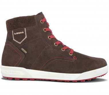 Lowa - Dublin II GTX QC men's winter shoes (brown/red)