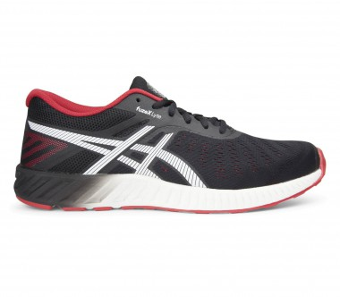 Asics - fuzeX Lyte men's running shoes (black/red)