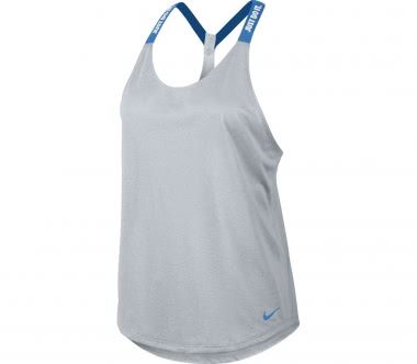 Nike - Dry Elastika women's tank top (grey/blue)