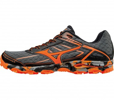 Mizuno - Wave Hayate 3 men's running shoes (dark grey/orange)