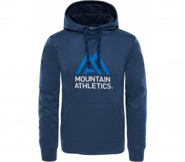 The North Face - Surgent hoodie men's training hoodie (dark blue/light blue)