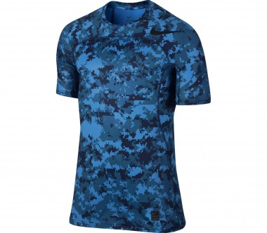 Nike - Pro Hypercool men's training top (blue)