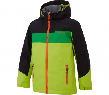 Ziener - Afuro Children skis jacket (green/black)