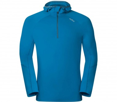 Odlo - Sillian Midlayer 1/2 Zip men's running hoodie (blue)