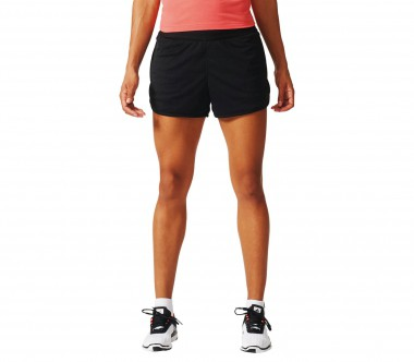 Adidas - Mesh women's training shorts (black)