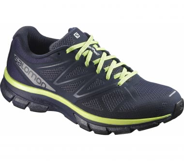 Salomon - Sonic Nocturne men's running shoes (black/yellow)