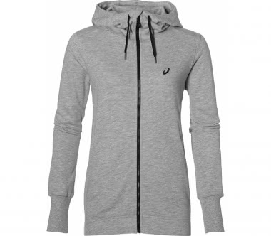 ASICS - FZ women's training hoodie (grey)