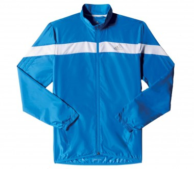 Adidas - Response Wind men's running jacket (blue/white)