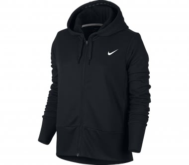 Nike - Dry Full-Zip women's training hoodie (black)