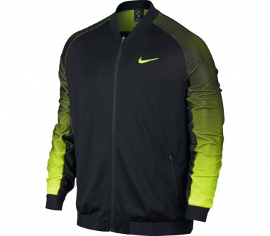 Nike - Court Premier men's tennis jacket (black/light yellow)