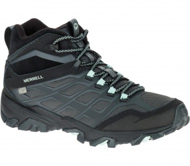 Merrell - Moab FST Ice + Thermo women's winter shoes (grey/black)