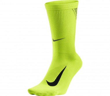 Nike - Elite Lightweight Crew running socks (light yellow/black)