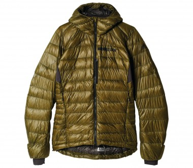 Adidas - Terrex Climaheat Agravic Down men's jacket (dark green)