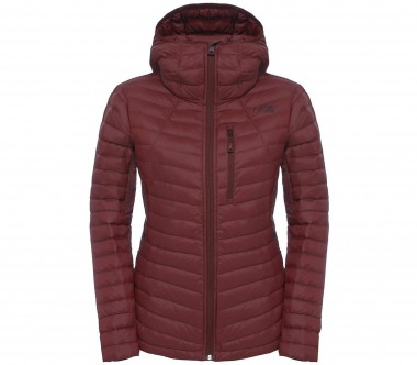 The North Face - Premonition women's down jacket (dark red)