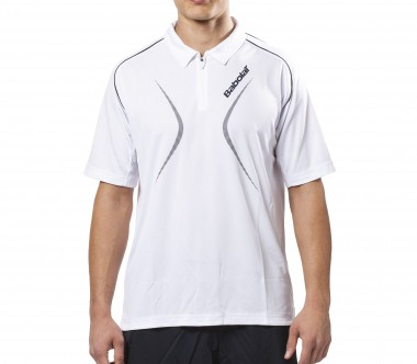 Babolat - Club men's tennis polo shirt (white)