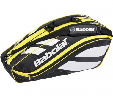 Babolat - Racket Holder x 6 Club black/yellow - Tennis - Tennis Bags