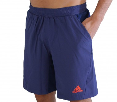 Adidas - Men´s Adizero Bermuda blue - HW12 - Tennis - Tennis Cloth - Men