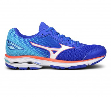 Mizuno - Wave Rider 19 women's running shoes (dark blue/tüturquoise)