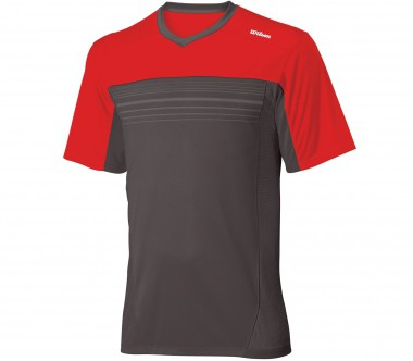 Wilson - Explosive Crew T-Shirt Graphite - SS12 - Tennis - Tennis Cloth - Men