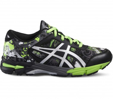 Asics - Gel-Noosa Tri 11 GS Children running shoes (black/light yellow)