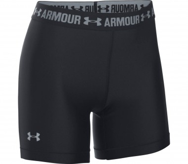 Under Armour - Heatgear Armour Middy women's training shorts (black)