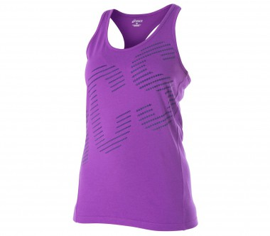 Asics - Graphic women's training top (violet)