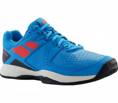 Babolat - Pulsion Clay men's tennis shoes (blue-red)
