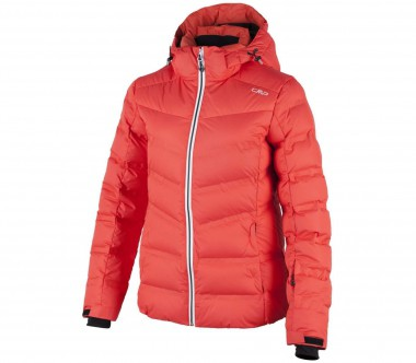 CMP - Zip Hood women's ski jacket (orange)