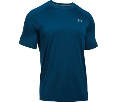 Under Armour - Tech Shortsleeve men's training top (dark blue)