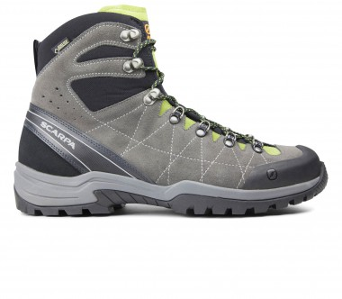 Scarpa - R/EVO GTX men's trekking shoes (grey/green)