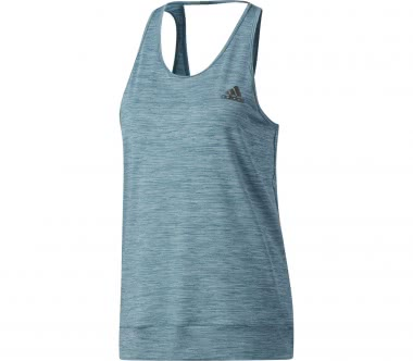 Adidas - PRF Branded women's training tank top top (dark blue)
