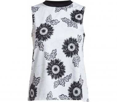 Röhnisch - Floral Ath women's training top (white/black)