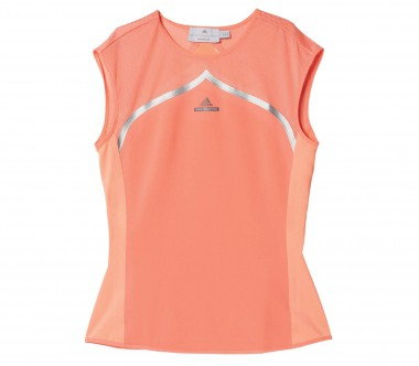 Adidas - Stella McCartney Barricade Australian Open women's tennis top (pink/orange)