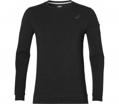 ASICS - Knit men's training crewneck (dark grey)