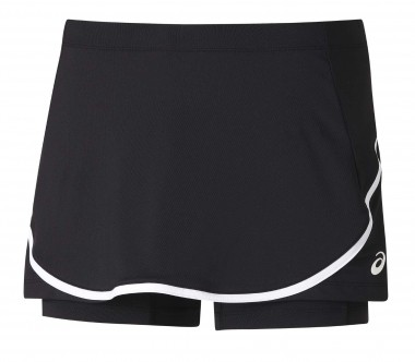 Asics - Club women's tennis skirt (black)