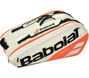 Babolat - Pure Racket Holder X12 Sac de Tennis (blanc/rouge)