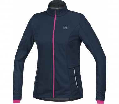 GORE RUNNING WEAR® - Mythos GWS women's running jacket (dark blue/pink)