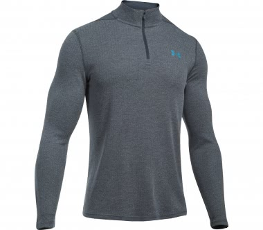 Under Armour - Threadborne Fitted 1/4 Zip men's training top (anthracite)