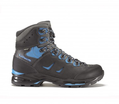 Lowa - Camino GTX men's trekking shoes (black/blue)